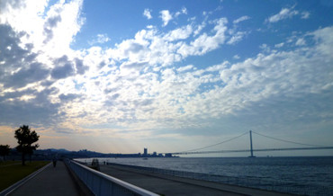 明石海峡大橋 Akashi_narrows_bridge