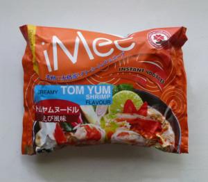 トムヤムクン ラーメン Tom yum shrimp