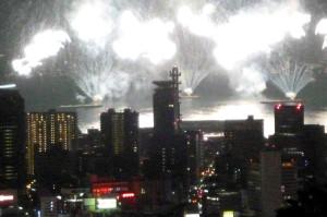 神戸海上花火大会 神戸布引ハーブ園より Fire_52