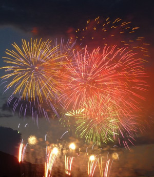 大曲の花火 Fireworks681