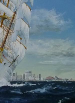 帆船絵画 P1060688trm