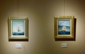 ポートピアギャラリー 作品展 帆船 絵画 Portopia02