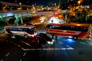 神戸ルミナリエ 2号線 Luminarie_bus