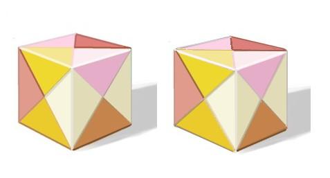 立方体 立体視 Cubic