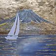 富士山とヨット  Mtfuji02