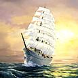 陽光 Nihonmaru 帆船