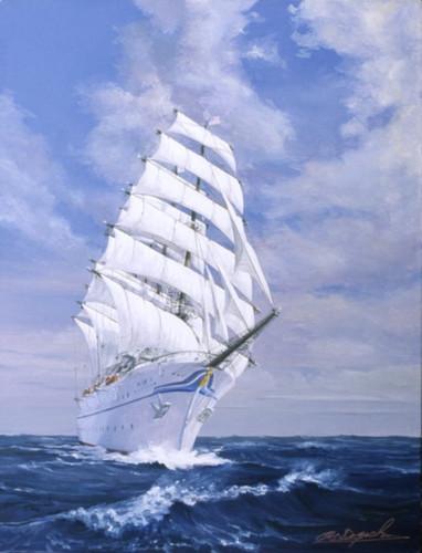 日本丸 Sailing_ship_nihonmaru