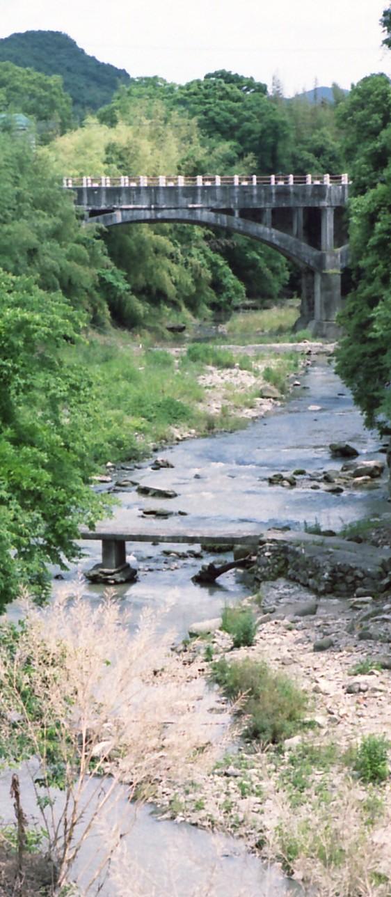 御坂のサイホン橋