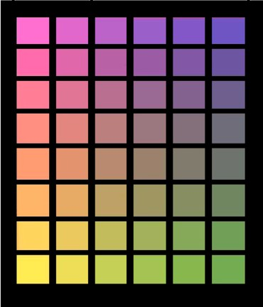 """<FONT color=""""#33ff33"""">色の三原色で作れる色は</FONT>"""