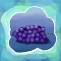 ブドウの描き方