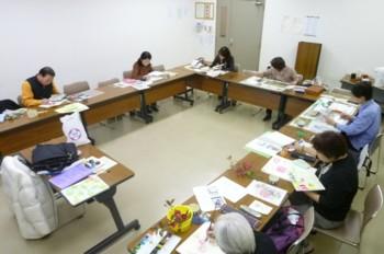 神戸市立 西区民センター 絵画教室 Seistudent4