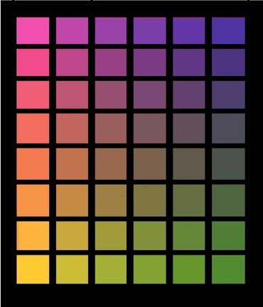 色の三原色で作れる色はl