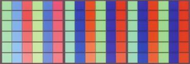 3原色の補色を印刷したものです。